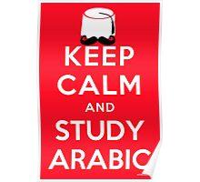 Keep Calm & Study Arabic Poster
