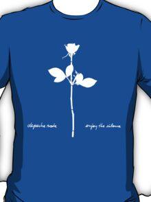 Depeche Mode : Enjoy The Silence - Paint Bleu T-Shirt