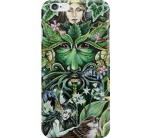 The Greeen Man - Spring iPhone Case/Skin
