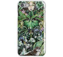 The Greeen Man - Spring iPhone Case/Skin