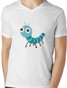 worm Mens V-Neck T-Shirt