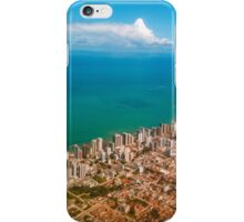 Sky, sea and buildings iPhone Case/Skin