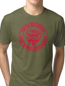 TYRELL CORPORATION - BLADE RUNNER (RED) Tri-blend T-Shirt