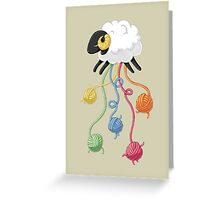 Wool Thread Greeting Card