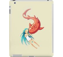 Red Whale iPad Case/Skin