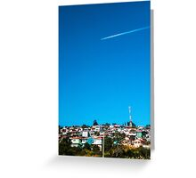 At The Sky Greeting Card