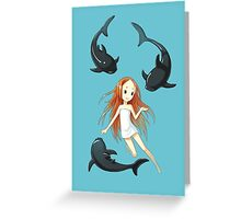 Underwater 2 Greeting Card