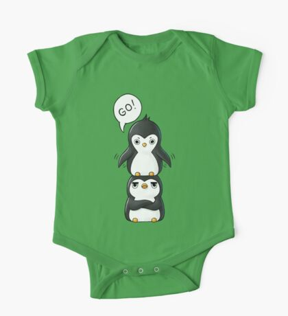 Penguins One Piece - Short Sleeve