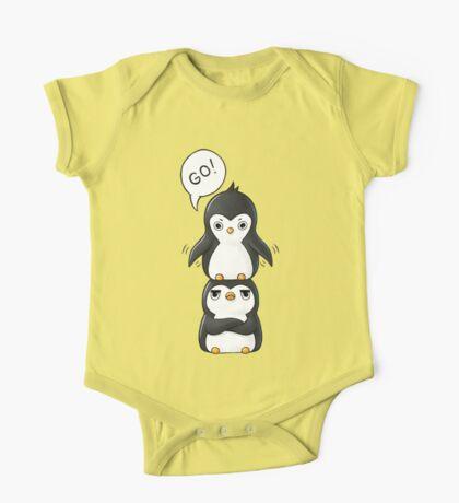 Penguins One Piece - Short Sleeve