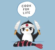 Penguin Chef Baby Tee