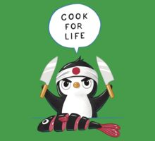 Penguin Chef Kids Tee