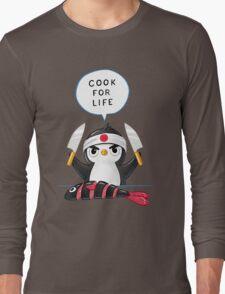 Penguin Chef Long Sleeve T-Shirt