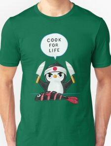Penguin Chef Unisex T-Shirt
