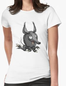 Armadillo Womens Fitted T-Shirt
