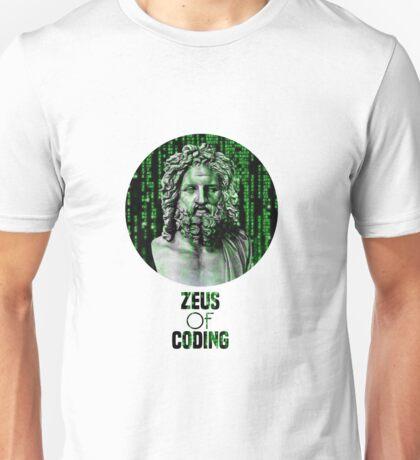 ZEUS OF CODING Unisex T-Shirt