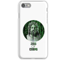 ZEUS OF CODING iPhone Case/Skin