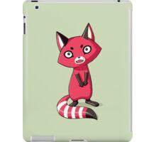 Shy Raccoon iPad Case/Skin