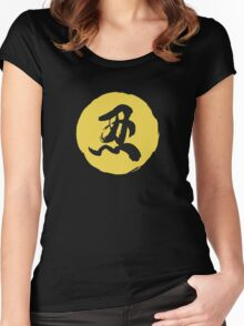 OW HANZO SPRAY Women's Fitted Scoop T-Shirt