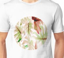 Monstera pastel Unisex T-Shirt