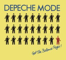 "Depeche Mode : Get The Balance Right - 7"" Kids Clothes"