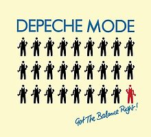 "Depeche Mode : Get The Balance Right - 7"" by Luc Lambert"