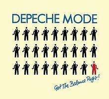 """Depeche Mode : Get The Balance Right - 7"""" by Luc Lambert"""