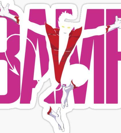 BAMF (Nightcrawler) Sticker