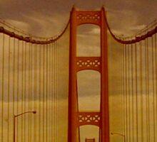 Mackinac Bridge ~ Michigan Sticker
