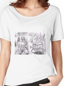 Bio-vehicle Town Women's Relaxed Fit T-Shirt