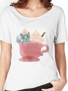 Vanilla Sprinkles Kitten  Women's Relaxed Fit T-Shirt