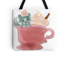 Vanilla Sprinkles Kitten  Tote Bag