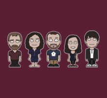 John Finnemore's Souvenir Gang (shirt, no text) by redscharlach
