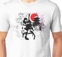 Japanese Guitar Girl Unisex T-Shirt