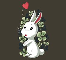Clover Bunny Womens Fitted T-Shirt