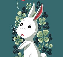 Clover Bunny by freeminds
