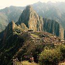 Machu Picchu Sunrise by shutupchloe