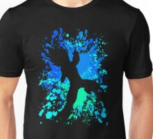 Vegeta Paint Splatter Anime Manga Shirt Unisex T-Shirt