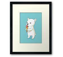 Polar Ice Cream Framed Print