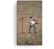 One Cannot Have Too Many Guitars! Canvas Print