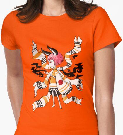 Daemon Girl Womens Fitted T-Shirt