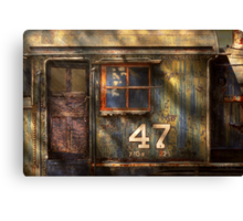 Train - A door with character Canvas Print