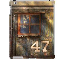 Train - A door with character iPad Case/Skin