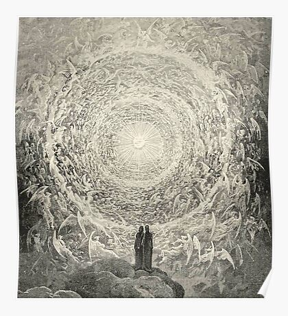 Dante, Heaven, Heavenly, The Divine Comedy, Gustave Doré, Highest, Heaven Poster