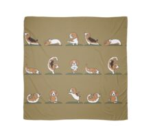 Beagle Yoga Scarf