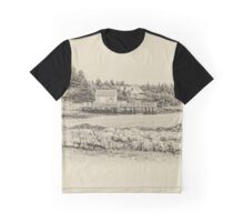 Bush Island - sepia Graphic T-Shirt