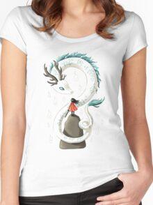 Dragon Spirit Women's Fitted Scoop T-Shirt