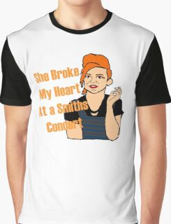 Steph Quote - She Broke my Heart a Smiths Concert Graphic T-Shirt