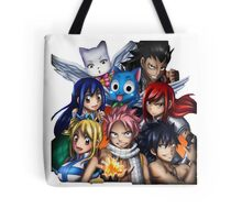 Fairy Tail Friends Tote Bag