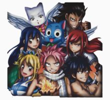 Fairy Tail Friends Kids Clothes