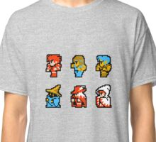 Final Fantasy: Team up (Redux) Classic T-Shirt